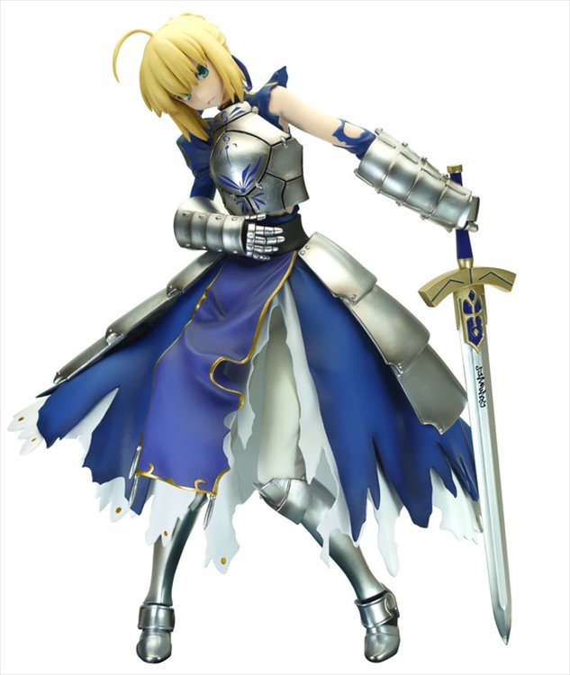 Fate Stay Night- 1/6 Saber Battle Version PVC Figure