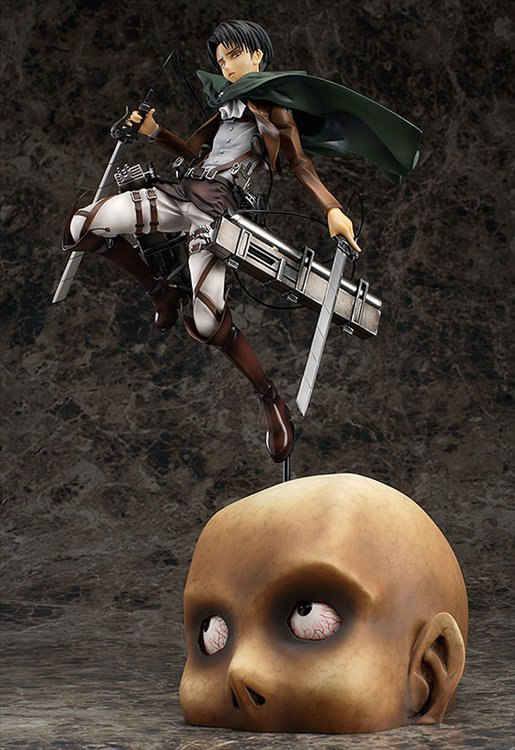 Attack on Titan- 1/8 Levi PVC Figure