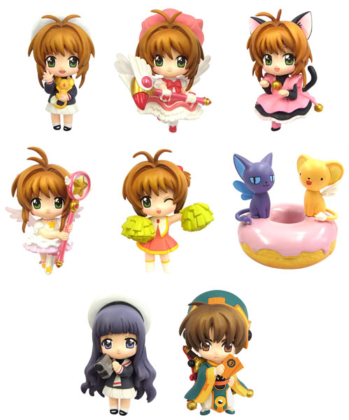 Cardcaptor Sakura- Color Colle DX Trading Figures (Single BLIND BOX)