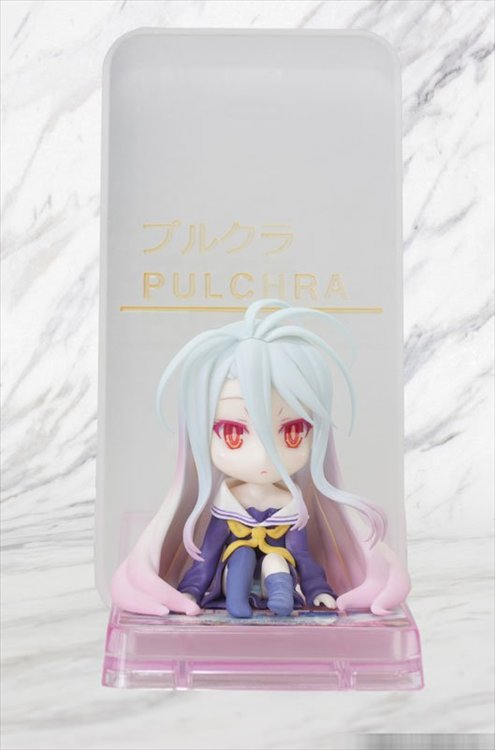 No Game No Life- Shiro Smartphone Stand Bishoujo Character Collection 11