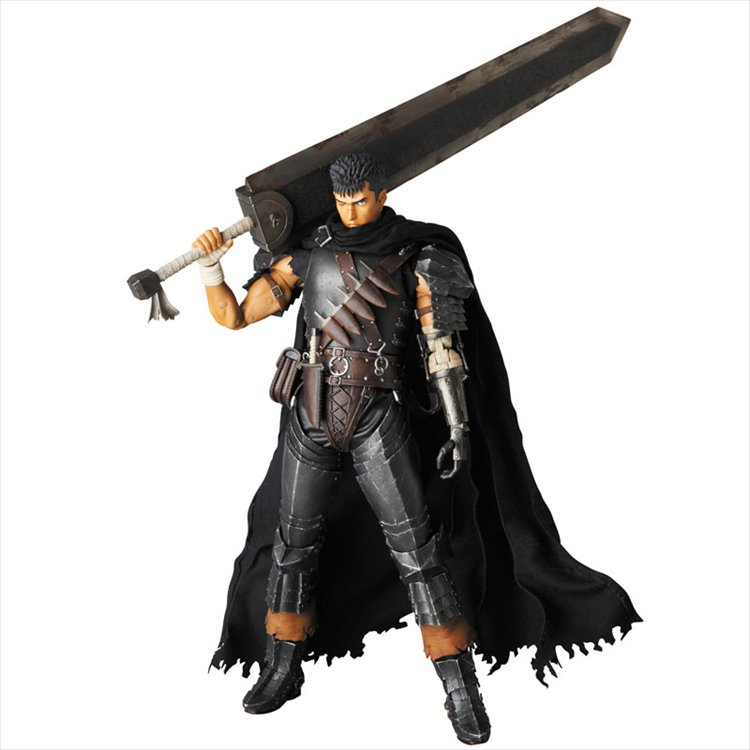 Berserk- Guts Dark Knight Version Real Action Heroes No 704 RAH