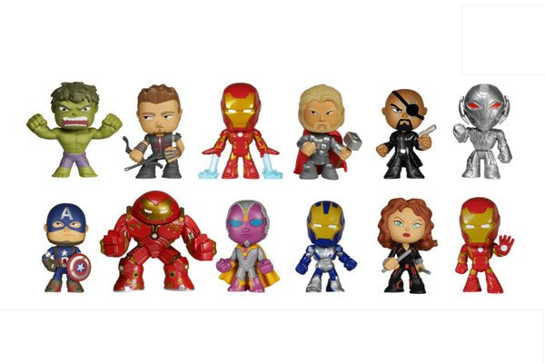 Marvel- Avengers Age of Ultron Series 1- Mystery Mini Figure- Single BLIND BOX
