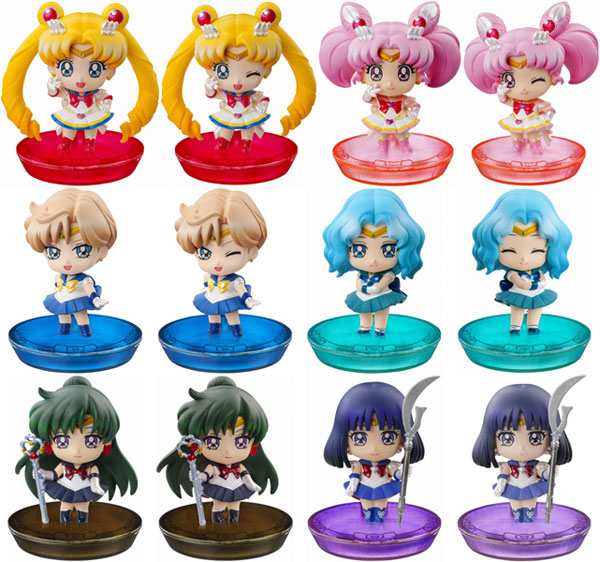 Sailor Moon- Petit Chara Atarashii Nakama to Henshin yo- Single BLIND BOX