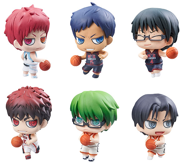 Kuroko Basketball- 2nd Quarter Game Edition Petit Chara Series- Single BLIND BOX