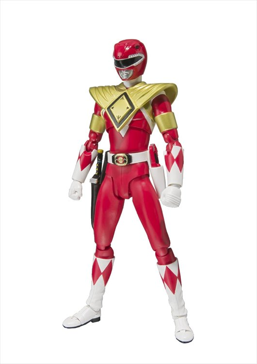 Mighty Morphin Power Rangers - Armored Red Ranger SH Figuarts