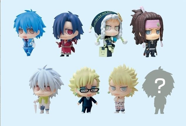 DRAMAtical Murder Trading Chimi Figure Collection - Single BLIND BOX