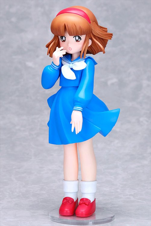 Nanako SOS - 1/7 Nanako Blue Version PVC Figure Hideo Azuma Bishoujo Figure Collection