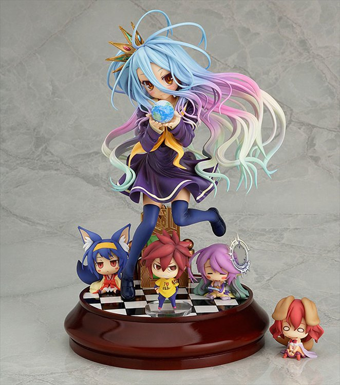 No Game No Life - 1/7 Shiro PVC Figure