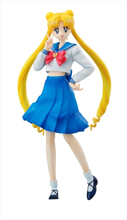 Sailor Moon - 1/10 Usagi Tsukino World Uniform Operation PVC Figure