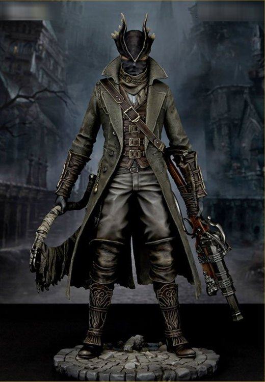 Bloodborne - 1/6 Hunter PVC Figure