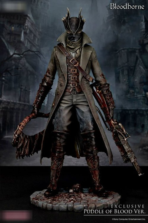Bloodborne - 1/6 Hunter Puddle of Blood Version PVC Figure