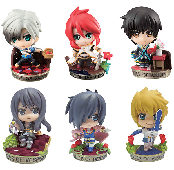 Tales of Series - Petit Chara Land Trading Figures - Single BLIND BOX