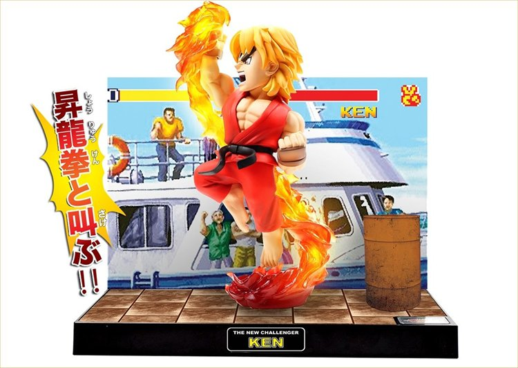 Street Fighter - Ken T.N.C 02 PVC Figure