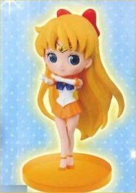Sailor Moon - 20th Anniversary Sailor Venus Q Posket Trading Figure