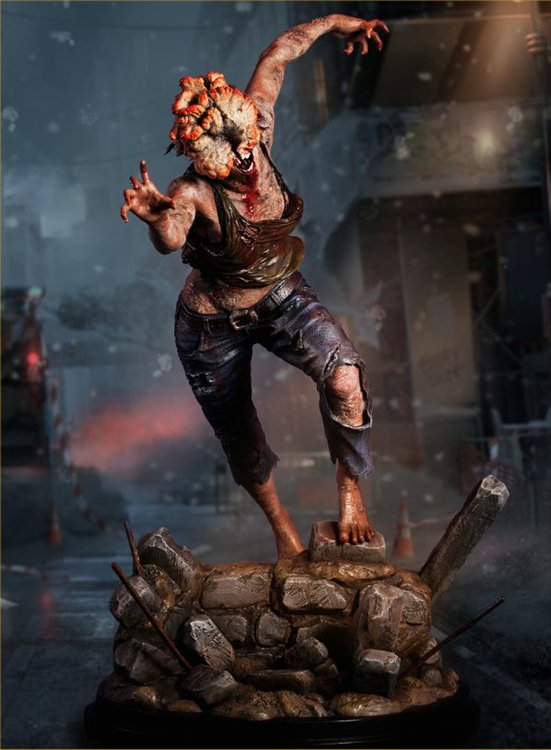 The Last of Us - 1/4 The Clicker PVC Figure
