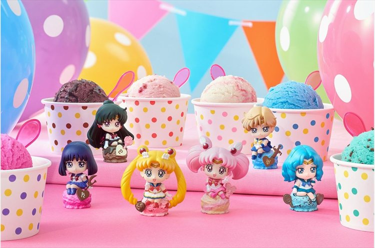 Sailor Moon - Ice Cream Party Petit Chara Land Trading Figures - Single BLIND BOX