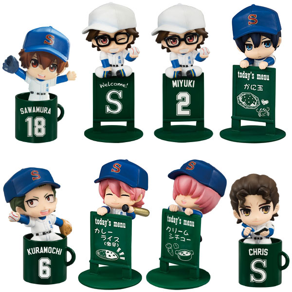 Ace of Diamond - Exercise on the Cup Ochatomo Series - Single BLIND BOX