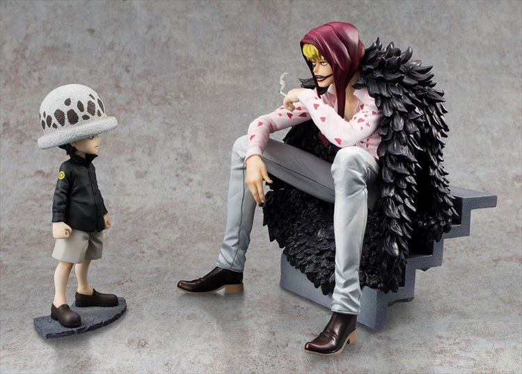 One Piece - Corazon and Law Limited Edition POP PVC Figure