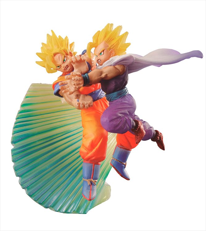 Dragon Ball Z - Goku and Gohan Dracapu Memorial Limited Version Figure