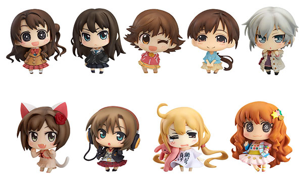 Idol Master Cinderella Girls - Cinderella Project Version 1 Minicchu Trading Figures - Single BLIND BOX