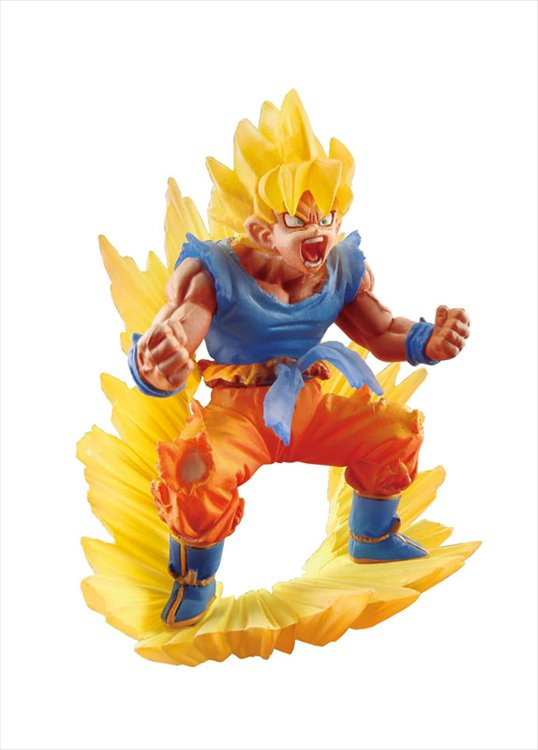 Dragon Ball Super - Super Saiyan Goku Dracap Memorial 02 PVC Figure