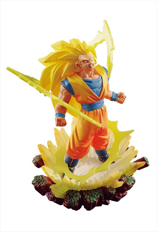 Dragon Ball Super - Super Saiyan 3 Goku Dracap Memorial 03 PVC Figure