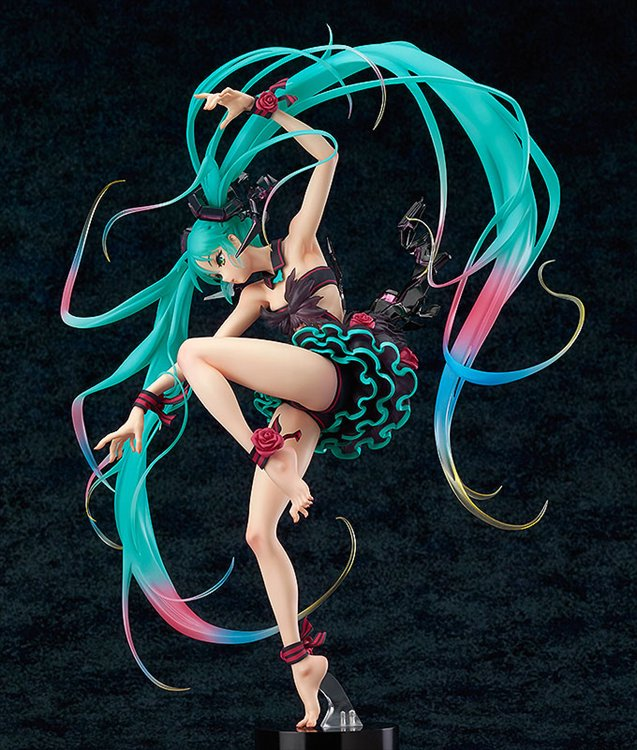 Vocaloid - 1/7 Miku Hatsune Mebae Version Character Vocal Series 01 PVC Figure