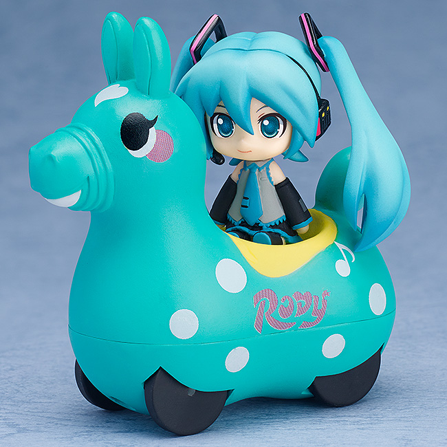 Vocaloid - Hatsune Miku and CuteRody Mint Nendoroid Plues Pullback Cars