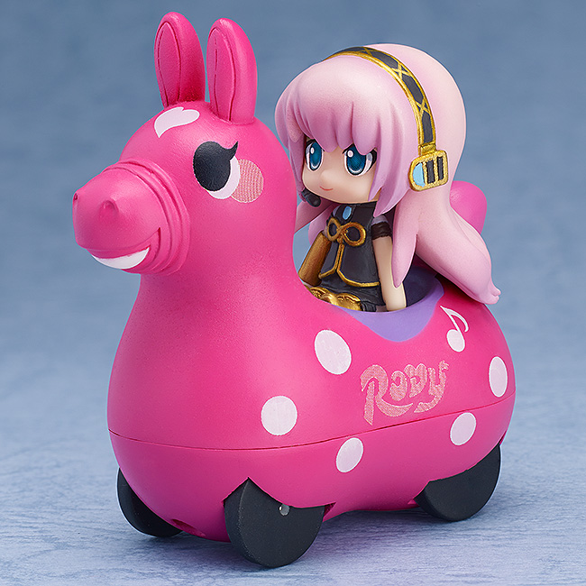 Vocaloid - Megurine Luka and CuteRody Peach Nendoroid Plues Pullback Cars