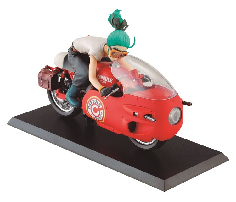 Dragon Ball - Bulma Red Version Desktop McCoy Figure
