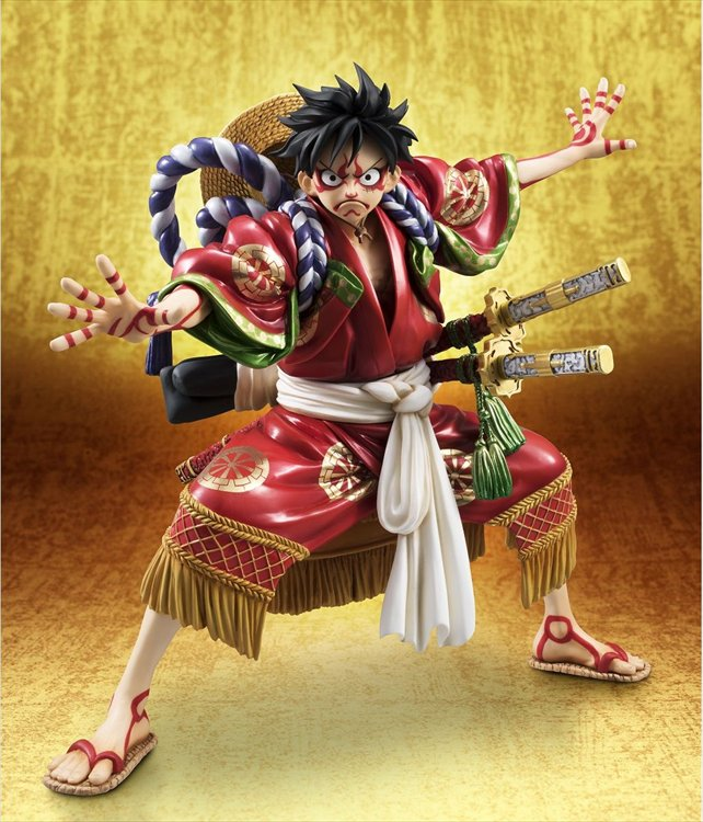 One Piece - 1/8 Kabuki Luffy POP PVC Figure