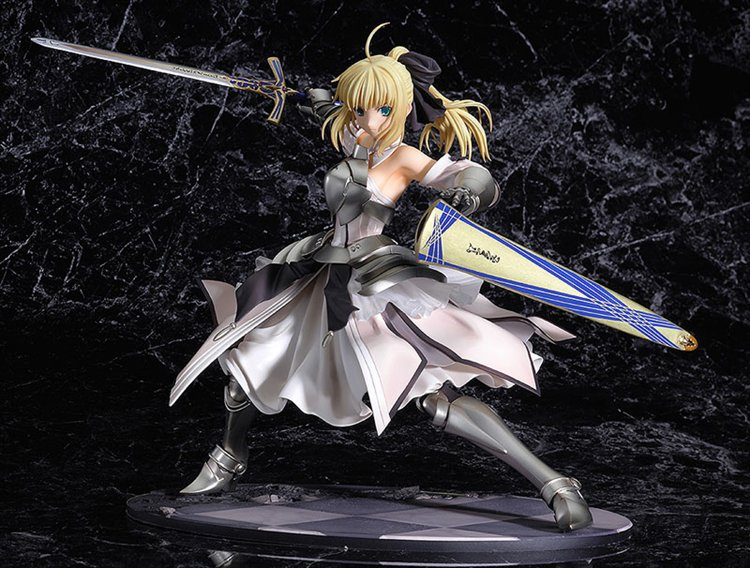 Fate Stay Night - 1/8 Saber Lily Distant Avalon PVC Figure Re-Release