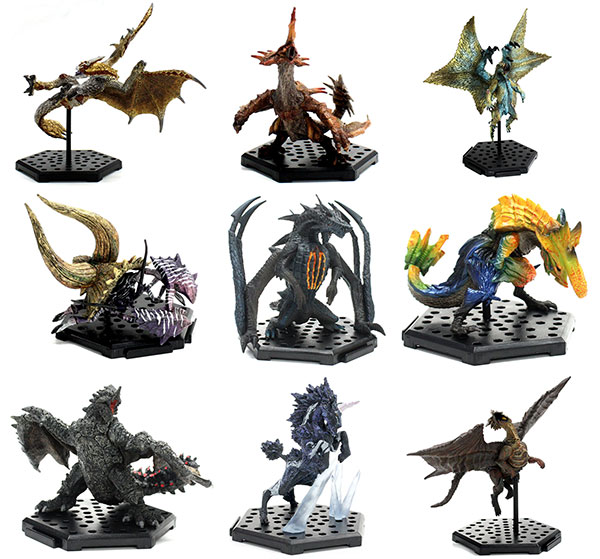 Monster Hunter - Capcom Figure Builder Standard Model Plus The Best Volume 1, 2 , and 3 - Single BLIND BOX