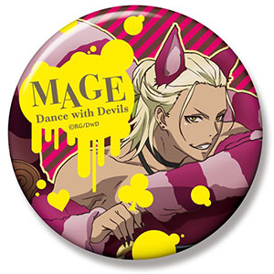 Dance with Devils - Big Can Badge - Mage Nanashiro Ver.2