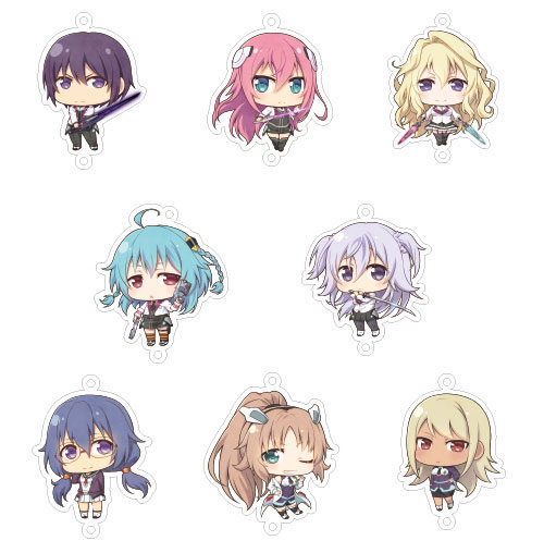 Gakusen Toshi Asterisk - Joint Acrylic Collection - Joi Colle - Single BLIND BOX