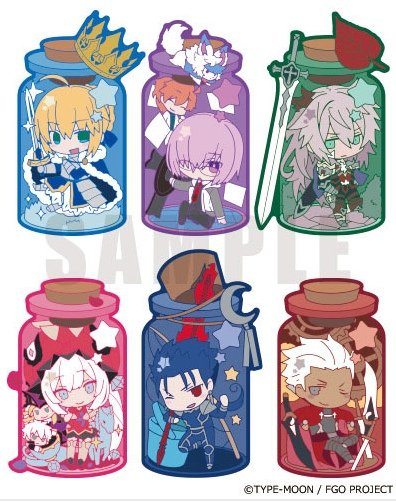 Fate Grand Order - CharaToria - Single BLIND BOX