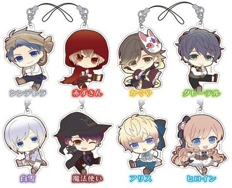 Taisho x Taisho Alice - Acrylic Petanko Trading Strap - Single BLIND BOX