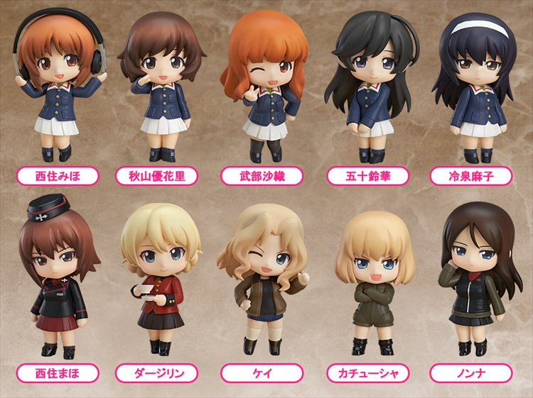Girls and Panzer - Petit Nendoroid Re-release SINGLE BLIND BOX