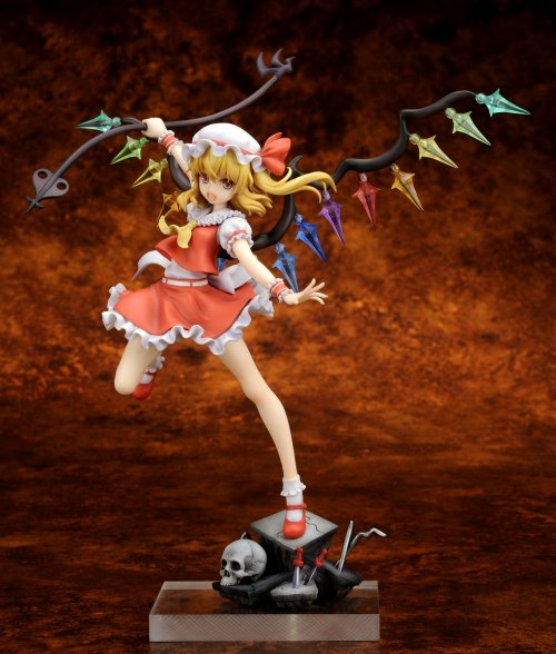 Touhou Project - 1/8 Flandre Scarlet Sister of the Devil Ver. PVC Figure Re-Release
