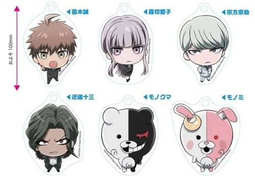 Dangan Ronpa 3 The End of Kibougamine Gakuen - Miagete Mascots Vol.2 Single BLIND BOX