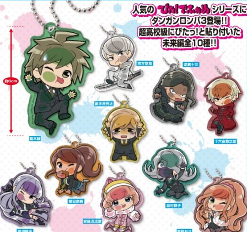 Dangan Ronpa 3 The End of Kibougamine Gakuen - Mirai-Hen Rubber Straps Single BLIND BOX