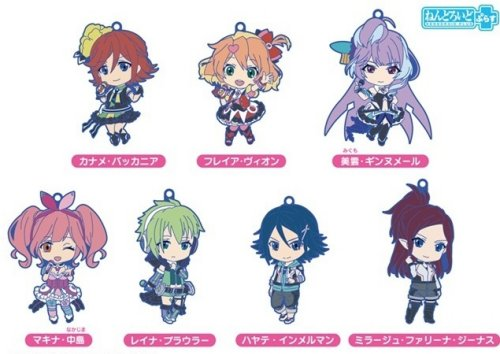 Macross Delta - Rubber Character Straps Single BLIND BOX
