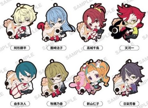 Kiznaiver - PitaColle Rubber Character Straps Single BLIND BOX