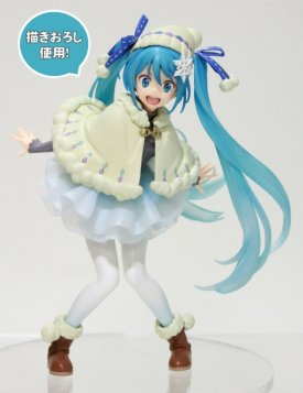 Vocaloid - Hatsune Miku Original Winter Clothes ver. Taito Prize Figure Re-Release