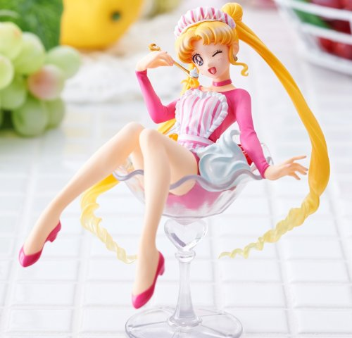 Sailor Moon - Tsukino Usagi Fruit Shop Ver. Sweeties PVC Figure