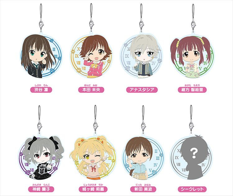 Idol Master Cinderella Girls - Nendoroid Plus Collectable Rubber Straps vol.2 Single BLIND BOX