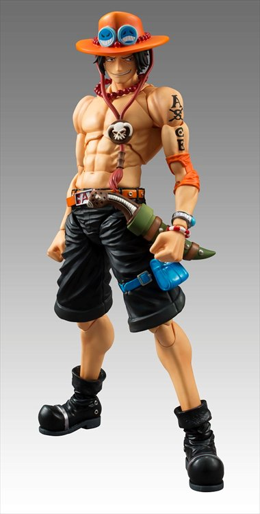 One Piece - Portgas D Ace Variable Action Heroes Figure Re-Release