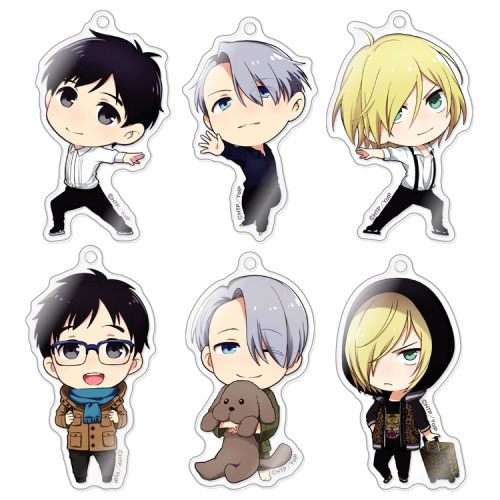Yuri On Ice - Acrylic Strap SINGLE BLIND BOX