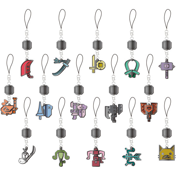 Monster Hunter - Weapon Icon Metal Mascot SINGLE BLIND BOX