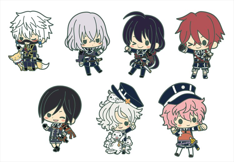 Touken Ranbu - Awataguchi vol.2 Rubber Charm SINGLE BLIND BOX